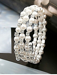 New Arrival Fashional Multilayer Crystal Pearl Bracelet