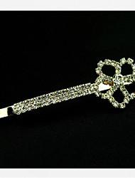South Korea's Hair Cartoon Type Diamond Flower Hairpin Clip / 2 On A Word