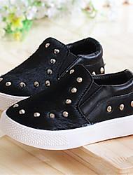 Baby Shoes - Casual - Sneakers alla moda - Di pelle - Nero / Giallo