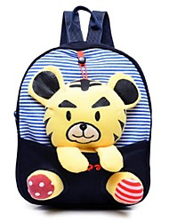 Unisex's New Kindergarten Cute Plush Three-dimensional Cartoon Bag