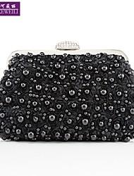 AIKEWEILI®Women's Evening Bag Fashion Flower Beads Bride Bag Casual All-Match Princess Clutch Bag