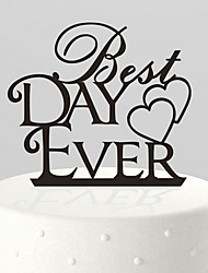 The Best Day Ever Cake Topper