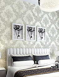 New Rainbown™ Classical Wallpaper Floral Soundproof Non-Woven 3D Wall Covering Non-woven Fabric Wall Art