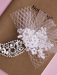 Women's Lace/Crystal Headpiece - Wedding/Special Occasion Tiaras 1 Piece