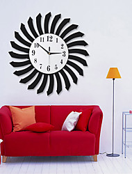 Personality Time Rings Design Wall Clock