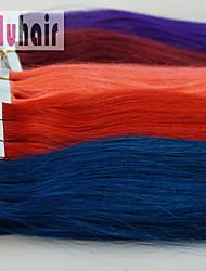 """16 """"-24"""" 20pc / emballer remy bande dans les extensions de cheveux humains Blond Brun Noir pour le cadeau de mariage de qualité aaa"""