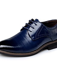 Men's Shoes Amir New Fashion Hot Sale Office & Career/Casual Leather Oxfords Black/Brown/Orange/Blue