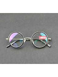 [Free Lenses]  Unisex 's Round Full-Rim Reading Glasses