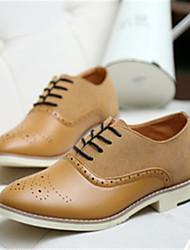 Men's Shoes Casual Oxfords Black/Blue/Yellow