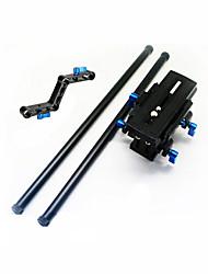 PTZ + Quick Release Plate + Rails + Z Type Connecting Rod RL-04 Shoulder Pad Attachment Bracket