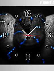 E-HOME® The Serpent Clock in Canvas 1pcs
