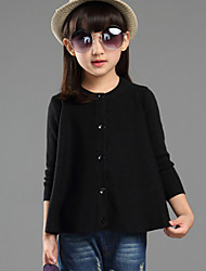 Girls Cotton Sun Protection Clothing Air-Conditioned Jacket