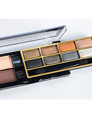 Double-Deck 10 Color Shimmer Eye Shadow Makeup Palette Eyeshadow(6 Selectable Colors)