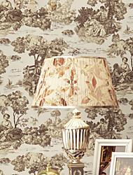 novo arco-íris ™ wallpaper arte pintura a óleo wallpaper deco revestimento de parede, art deco papel não-tecido