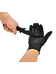 пять проволоки сократить стойкие перчатки обороны тактические перчатки анти резки перчатки Skidproof стекло утолщенной открытый важно