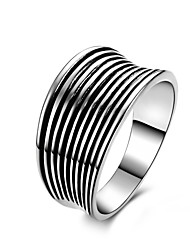 Fine Jewelry New  Genuine Charms 925 Sterling Silver Jewelry Europe &America Wedding Ring for Men&Women ,Wild Fashion