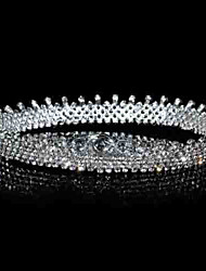 Women's Rhinestone/Alloy Headpiece - Wedding Tiaras/Headbands 1 Piece