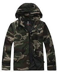 Outdoor Men's Jacket / Winter Jacket Camping & Hiking / Hunting / Fishing / Climbing / Cycling/BikeWaterproof / Breathable / Anti-Insect