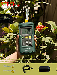 Mastech Ms6514 Dual Thermocouple Temperature Meter (K/J/T/E/R/S/N Type Probe) With Data Storage And Transmission