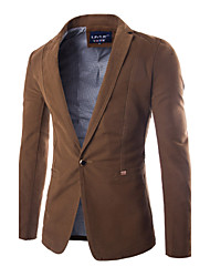 Men's One Button Casual Suit Jacket
