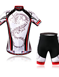 WOSAWE Cycling Wear Dragon Knight - New Bicycle Short-Sleeved Suit