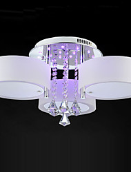 Ecolight™ Remote Control Flush Mount Crystal/LED Modern/Contemporary