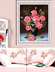 DIY KIT Diamond Cross Stitch , Floral 65*81