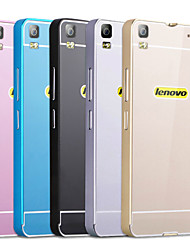 For Lenovo Case Shockproof Case Back Cover Case Solid Color Hard Acrylic Lenovo