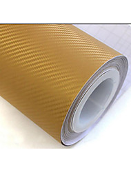 "Lorcoo™ Simcarbon 3D Carbon Fiber Vinyl Film Wrap  12"" X 50"" Sheet(Free Gift Edge Squeegee And Knife)"
