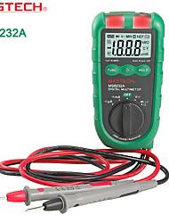 "Mastech MS8232A 4 "" Mini rentang Auto Multimeter Digital DMM Ammeter Voltmeter ohmmeter  Ncv Tester"