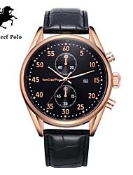 correa de reloj de cuero de la moda de los hombres con VA-nans-15071800202