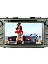 "8 ""para a Toyota Camry 2007-2011 touch screen motorizada 2-din carro dvd player -GPS-bt-tv-bluetooth-fm"