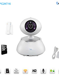 Snov Wifi IP IR PTZ Surveillance Camera with door sensor and 16GB TF card, HD Baby Monitor