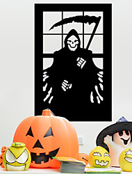 faucheuse muraux PVC autocollants Halloween décoration