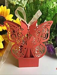 50 Piece/Set  Favor Holder - Cubic Card Paper /Wedding Candy Box foe weddding decoration