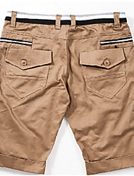 Men's Shorts , Casual Pure Polyester