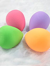1Pcs Drop Shape Sponge Blender Blending Cosmetic Puff Flawless Powder Smooth Beauty Make Up Tool(Random Color)