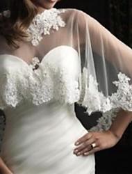 Wedding Lace Capes Sleeveless Wedding  Wraps