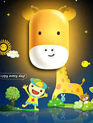 Cute Cartoon Dolphin Light Induction Control LED Wall Lamp Night Light Night lamp Children Christmas Birthday Gift