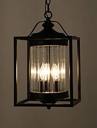 The Designer's Lamp American Country Retro Restaurant Bar Stairs Garden European Style Chandelier