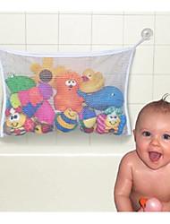 bolsa de aseo juguetes de baño de almacenamiento (color al azar)