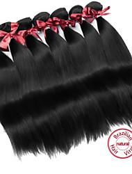 Brazilian Virgin Straight Hair Weft Top Grade Brazilian Virgin Hair Unprocessed Remy Human Hair Weaving 2pcs/lot