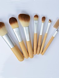 7 Makeup Brushes Set Nylon Professional / Eco-friendly Others