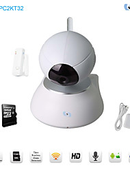 Snov Wireless Night Vision IP PTZ Surveillance Camera with Door Sensor & 32GB TF card,Motion Detection, P2P, APP