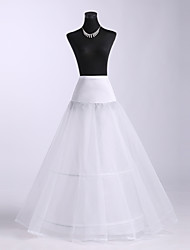 Polyster Ball Gown Two Tier Floor-length Petticoats