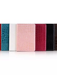 Krokodil-PU-Leder Foliostandplatz-Fall-Abdeckung für Apple iPad mini 4
