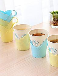 6-Pack Paper Cup Drink Holder Plastic Disposable Cup Holder (Random Color)