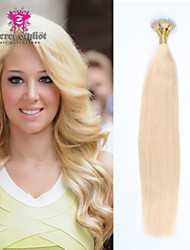 "Mini Nano Bead Hair Extensions 20"" 100pcs Nano Rings Human Hair Extensions 100% Human Russian European Hair"