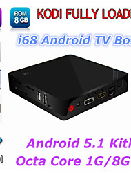 I68 Rockchip RK3368 Octa Core 64Bit TV Box Cortex A53 Android 5.1 OS 1GB/8GB KODI Android TV Box HDMI 2.0