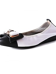 Women's Shoes   Flat Heel Pointed Toe Flats Casual Pink / White